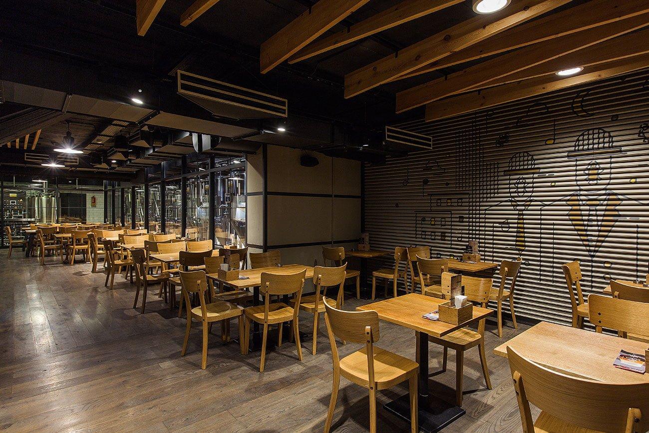 фото второго вида небольшого зала на первом этаже ресторана ДАРГЕТ, Ереван