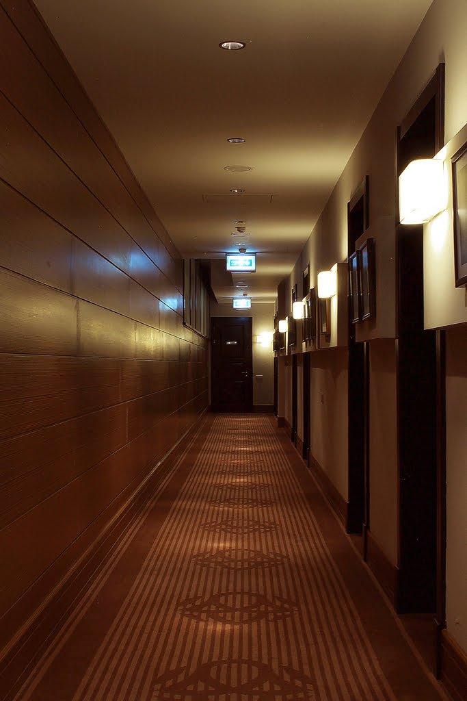 fotografiya koridora so vkhodami v nomera, gostinitsa VALLEKS GARDEN, Stepanakert