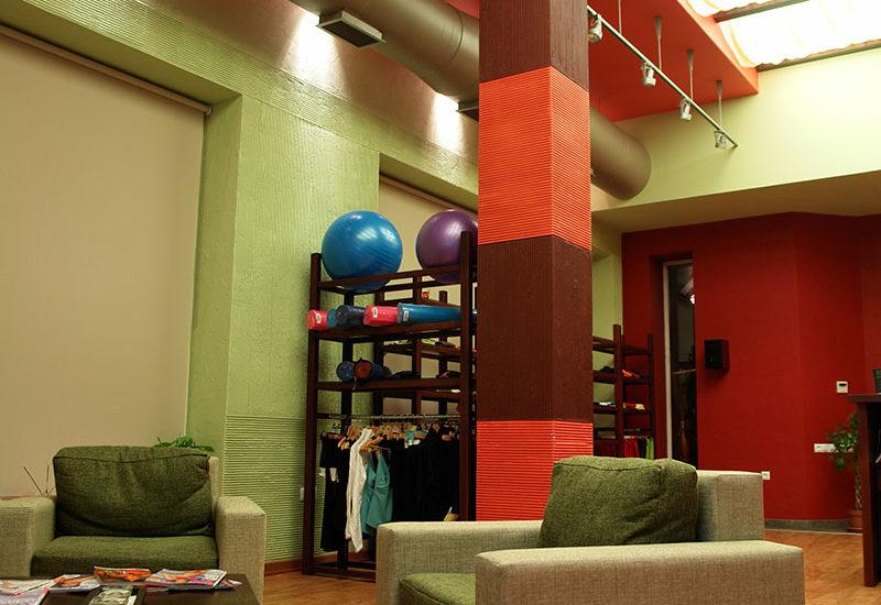 foto mesta dlya otdykha v shoonch studiya Yogi Pilates SPA DIZAYN studii IMAGEMAN