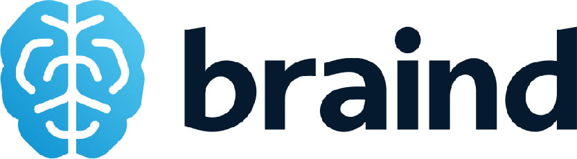 uvelichennaya kartinka logotipa Braind kompanii partnora