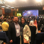 foto vladel'tsa i general'nogo direktora kompanii imageman Mikayela i Patritsii Karsyan na forume deco 10