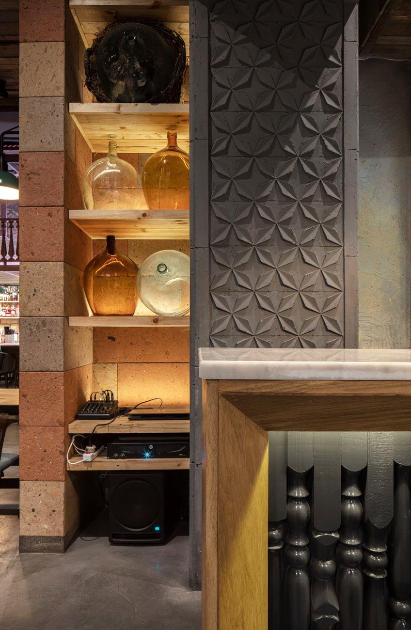фото оформления интерьера и декорирования в аутентичном традиционном стиле Конда