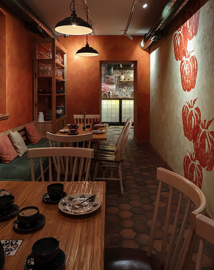 foto POMODORO Little Italy restaurant in the city design by IMAGEMAN