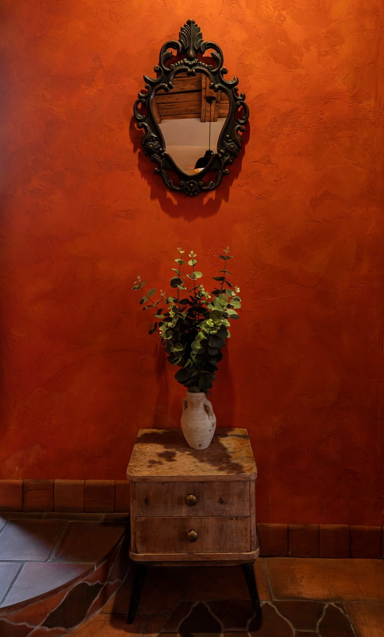 photography of decor and interior colors in ethnic Mediterranean style